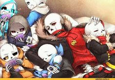 AU sans they are cool ! :3