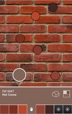 Exterior Paint colors that go with red brick #exteriorpaintcolours