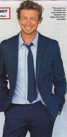 I don't usually prefer blondes but in this case, I don't mind if I do. Now u know why I love the Mentalist