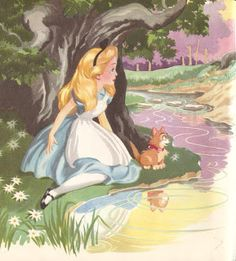 Vintage Disney Alice in Wonderland: Cozy Corner Book