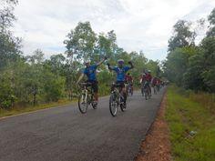 cross Wassur National Park,Papua.