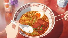 Find images and videos about gif, food and anime on We Heart It - the app to get lost in what you love. Anime Bento, Aesthetic Gif, Aesthetic Food, Anime Gifs, Anime Art, Gif Animé, Animated Gif, She And Her Cat, Casa Anime
