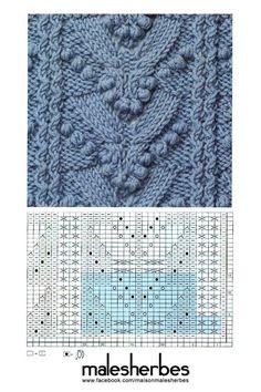 Beautiful knitting pattern