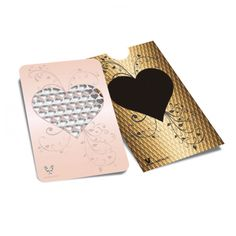 Grinder Card - Rose Gold Heart.  The new way to grind! The V Syndicate Grinder is a totally flat, credit card sized grinder that fits in your wallet. It is the most practical, convenient and discreet solution for grinding your herbs anywhere! The card features a finger friendly grinding surface to grind your herbs to the ideal consistency, and can be used to scoop up smaller bits of your bud or stray stems... For more information please click the link or visit dotcombong.com.