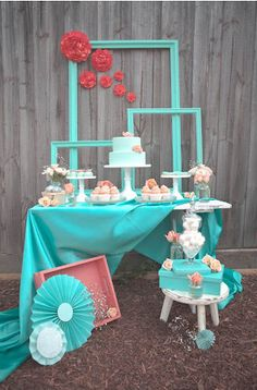 Cute! and you can get frames at the thrift and paint them in your desired color.