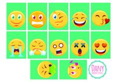 Emojis para humor do calendário de mesa, Dany Martines