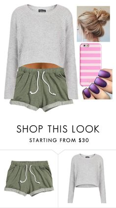 """""""Untitled #297"""" by haeys ❤ liked on Polyvore featuring Topshop and Kate Spade"""