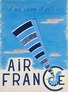 Air France - D'un coup d'aile... -