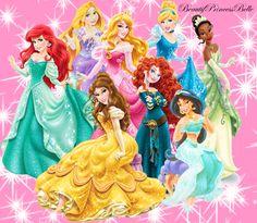 Disney Princesses Sweet And Shine by BeautifPrincessBelle.deviantart.com on @DeviantArt