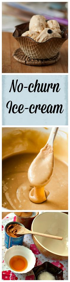 No-churn Dulce de leche coconut icecream is an easy dessert for the summer. The sweet caramel flavour is perfect with nutty coconut. Only 213 Cals/portion. glutenfree