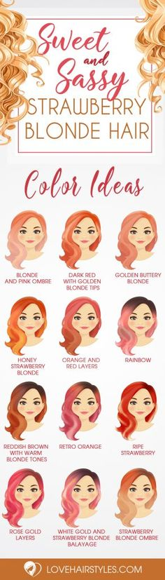 Sweet and Sassy Shades of Strawberry Blonde Hair Strawberry blonde hair is a gorgeous blend of soft pink or red hues and blondes. Check out the hottest shades of strawberry blonde just in time for Fall. Buttery Blonde, Strawberry Blonde Hair Color, Blonde Tips, Blonde Hair Looks, Blonde With Pink, Tips Belleza, Hair Today, Dyed Hair, Hair Inspiration