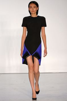 Dion Lee Spring 2013 Ready-to-Wear Fashion Show - Liao Shiya