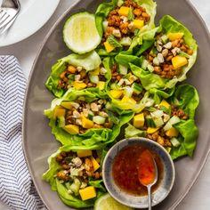 Mango Tempeh Lettuce