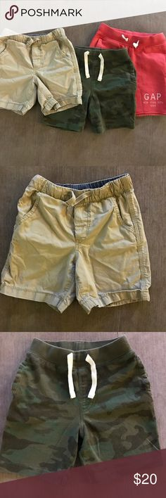 BabyGap shorts bundle BabyGap shorts bundle. Worn one summer. Excellent condition. GAP Bottoms Shorts