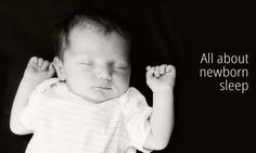 All about newborn sleep. No routine or pattern? Don't panic!