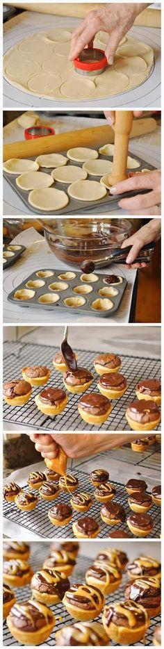 Caramel Brownie Bites Recipe