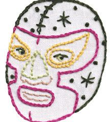 I mean who doesn't need Luche Libre Guest Towels?