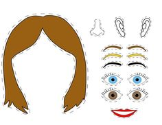 Láminas descargables para trabajar con niños que tienen autismo. Esta vez aprendemos las partes de la cara. Aprenderemos diferentes colores de los ojos, el pelo y las cejas. Mírame y aprenderás en …