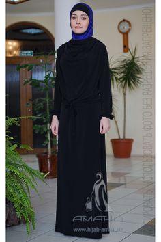 Ahsana black dress - price 66$ Fabric-jersey Платье Ахсана черное - цена 2300 руб Ткань-трикотаж
