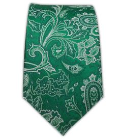 Tudor Paisley - Emerald Green (Skinny) | Ties, Bow Ties, and Pocket Squares | The Tie Bar