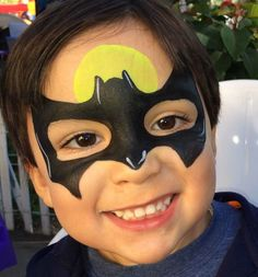 Kinderschminken - Batman Motiv