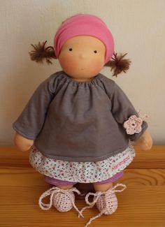 Puppen - Floy 30 cm - ein Designerstück von Mariengold bei DaWanda