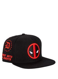 c21d6d407f5 Marvel Deadpool Allover Embroidered Snapback Hat