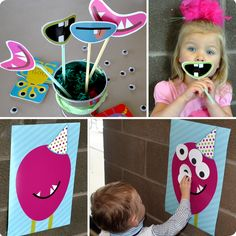 The Iowa Farmer's Wife: {Sweet P's} Monster Birthday Party