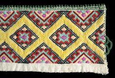 Norsk Folkemuseum - Fotograf Reinsfelt, Anne-Lise Hardanger Embroidery, Anne, Color Shapes, Betta, Bohemian Rug, Colours, Quilts, Blanket, Rugs