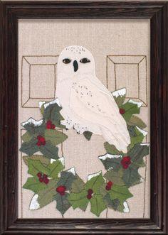 A personal favorite from my Etsy shop https://www.etsy.com/listing/459221966/wool-applique-pattern-4-seasons-winter