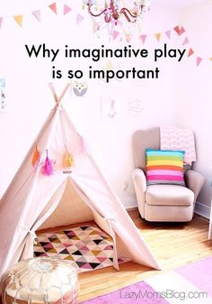 Why imaginative play is so important - Joanna Anastasia - Why imaginative play is so important for your child's development, and how to encourage it in 3 e - Step Parenting, Parenting Articles, Parenting Toddlers, Parenting Hacks, Learning Through Play, Kids Learning, Life Skills For Children, Kids Nowadays, Infant Activities