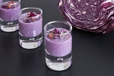 Creme, Dessert In A Jar, Red Cabbage, Time To Eat, Perfect Party, Cooking Time, Finger Foods, Food Styling, Party Time