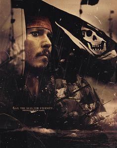 Pirate Art, Pirate Life, Captain Jack Sparrow, Will Turner, John Deep, On Stranger Tides, Elizabeth Swann, The Lone Ranger, Dead Man