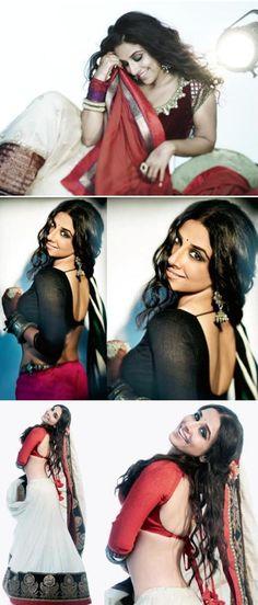 Vidya Balan. My girl crush? HELL TO THE YEAHHHH!!!
