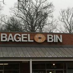 Ellicott City, MD. Bagel Bin: In our town, you are either a bagel bin person or an Einstein bagels person. I am on team bagel bin.