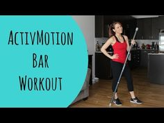 This BRAND NEW piece of equipment is an AWESOME addition to any home gym. It makes your average fit bar workout so much harder! Try this workout for a killer. Cardio Pilates, Hiit, Cardio Workouts, Core Work, Bar Workout, Killer Workouts, Gym Classes, Live Fit, Get Moving