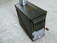 Ammo Box Wood Stove 2- YouTube