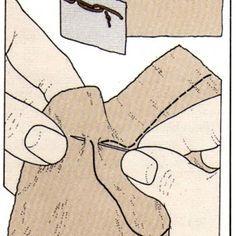 Costura a mano, Pespunte