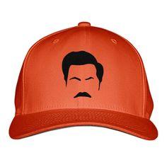 Ron Swanson Embroidered Baseball Cap