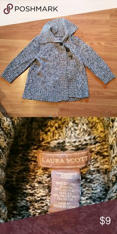 5 for $15 Laura Scott Cozy Sweater Cozy Sweater 3 buttons Fun relaxed neck! Laura Scott Shirts & Tops Sweaters