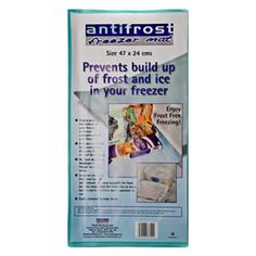 Make Your Life Easier With Caraselle Anti Frost Freezer Mat In Your Freezer