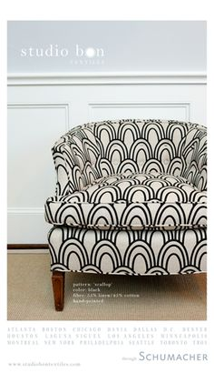another beautiful print from studio bon. possibly recover in this for that old chair.