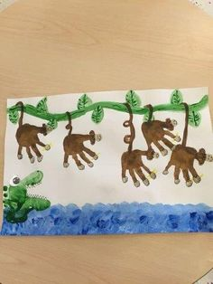 Jungle Crafts For Kids To Go Along With The Jungle Book Art