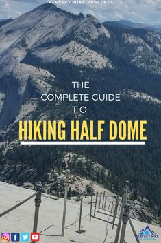 Jan 2020 - In this guide you'll find everything you need to know before hiking Half Dome of Yosemite National Park. From Half Dome permits to the type of gloves to bring along, we'll cover it all. Hiking Photography, Night Photography, Photography Tips, Landscape Photography, Aerial Photography, California National Parks, Yosemite National Park, California Vacation, Yosemite Sequoia