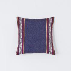 Montanas Pillow - Blue – The Citizenry Fluffy Pillows, Blue Pillows, Throw Pillows, Cream Living Rooms, Boho Room, Fashion Fabric, Lumbar Pillow, Home Decor Inspiration, Home Accessories