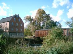 Bollinger Mill and Burfordville covered bridge in Southeast MO