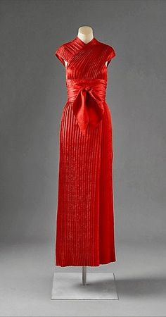 1950 Claire McCardell, silk evening dress - Manufacturer: Townley Frocks - The Metropolitan Museum of Art