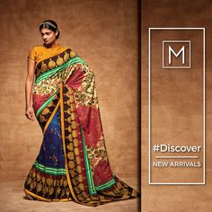 Women love shopping and it would not be astonishing to find them elated on arrival of a new collection of clothes.  Shop New Arrivals of Exclusive Sarees. http://methnic.com/  #fashion #Design #Latest #Trending #Stylish #Amazing #Ethnic #Traditional #Saree #Kurties #Lehenga #Salwar #Suits #Sherwani #Men #Women #Dresses #Clothing #Apparels #Garment #Discover