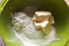 Povidlové válečky ze zakysané smetany – RECETIMA Nutella, Feta, Ham, Dairy, Pudding, Cheese, Sweet Cookies, Top Recipes, Plum Jam