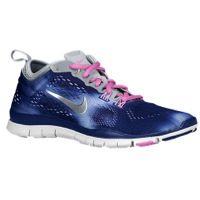 Nike Free 5.0 TR Fit 4 - Women's - Blue / Silver